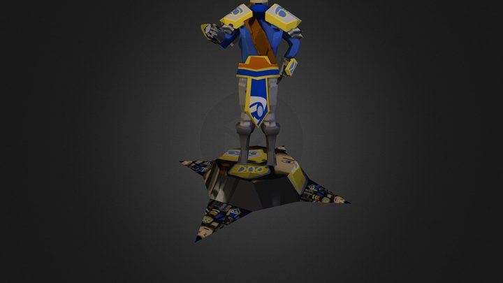 Garen Commander 3D Model