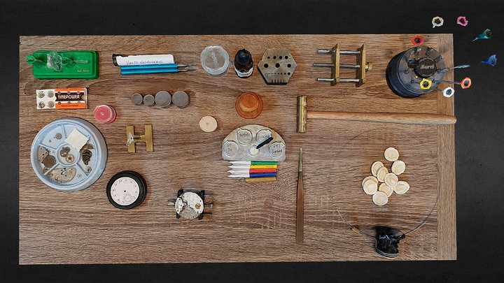 Watchmaker bench 3D Model