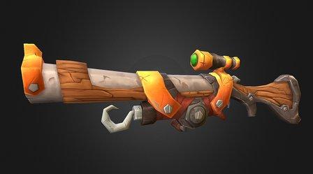 Snipe Rifle 3D Model