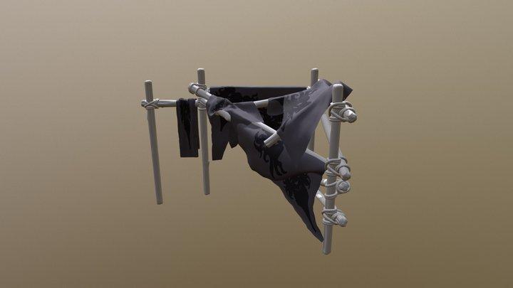 Sintel Bedroom - Staffordshire University 2018 3D Model