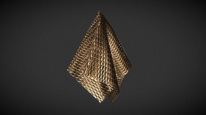 Loop Chain Material 3D Model