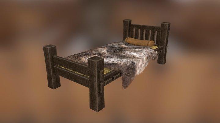 Peasant's Bed 3D Model