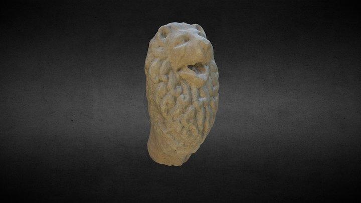 Leu Funerar - epocă romană 3D Model