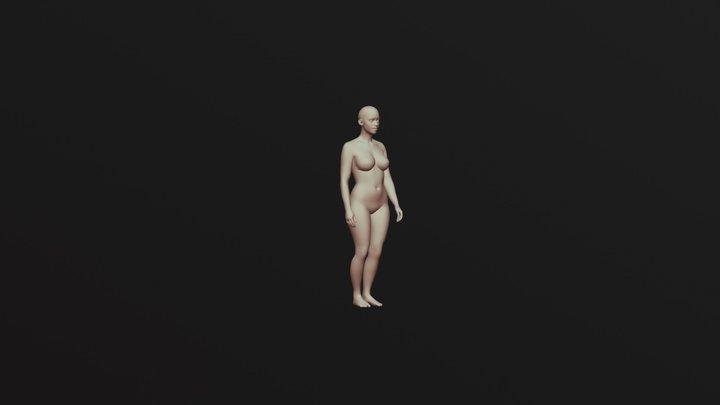 Animação de Personagem - Sneak Cycle 3D Model