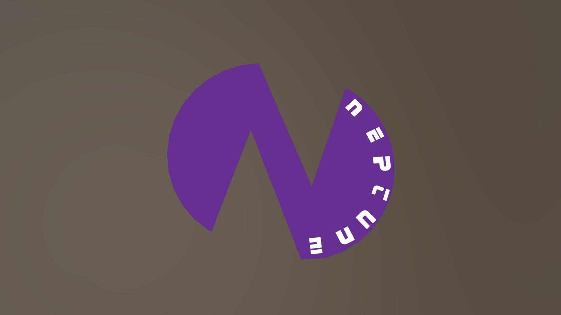 Neptunia Neptune S Logo 3d Model By Bigzeek Bigzeek Fe0c40a Sketchfab