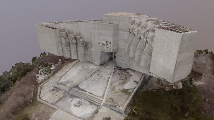 Bulgarian - Russian Monument 3D Model