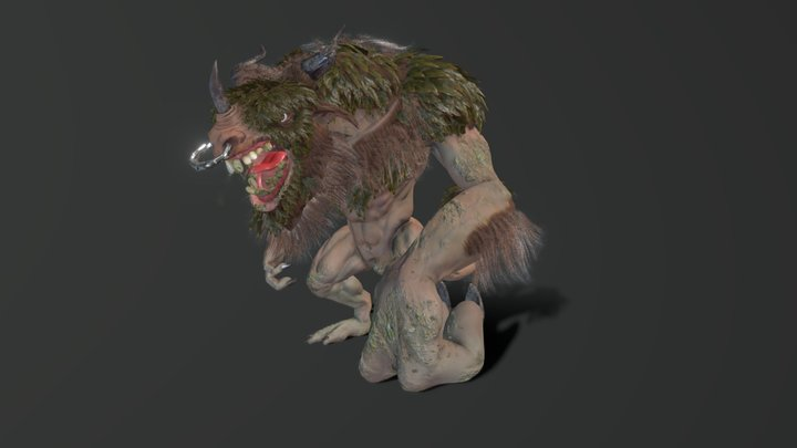 Magni The Forest Guardian 3D Model