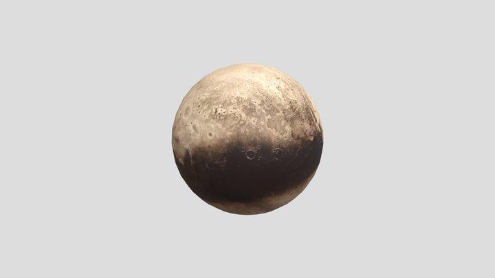 Plutón 3D Model