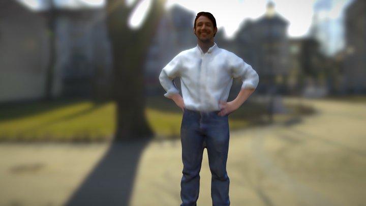 Josh Osborn 3D Model