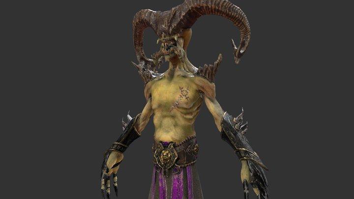 Demon V2 3D Model