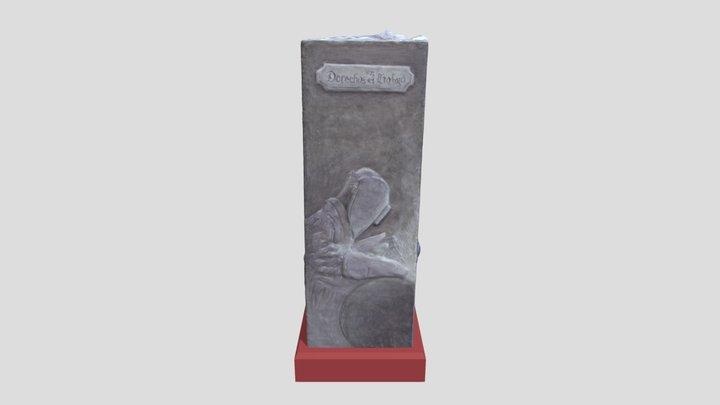 Tercer Premios Escultura 2020 3D Model