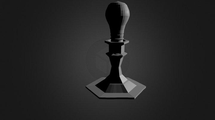 Yang Light Bulb Holderblend(2 0) 3D Model
