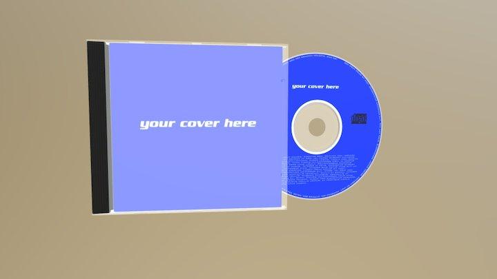 Audio CD + Case 3D Model