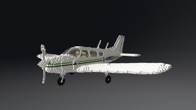 Piper Warrior PA28 3D Model