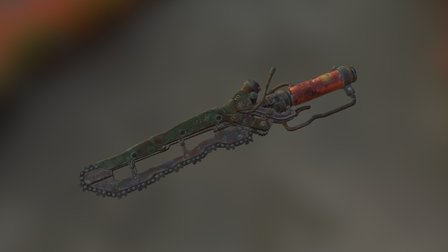 Ripper (chainknife) 3D Model