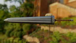 Slayer Sword - Tera Fanart 3D Model