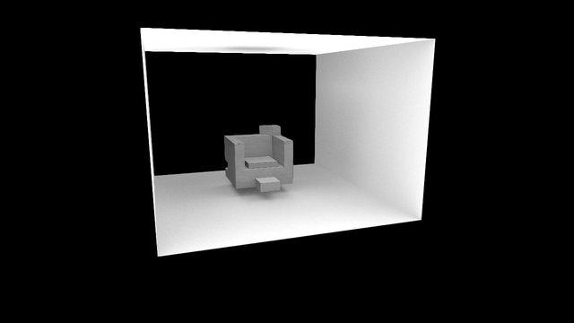 eksperyment AO 3D Model
