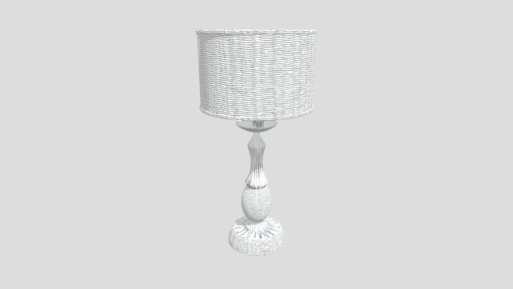 Настольная лампа Maytoni H357-TL-01-BG 3D Model