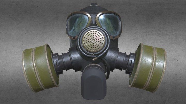 Gasmask GP-7 3D Model