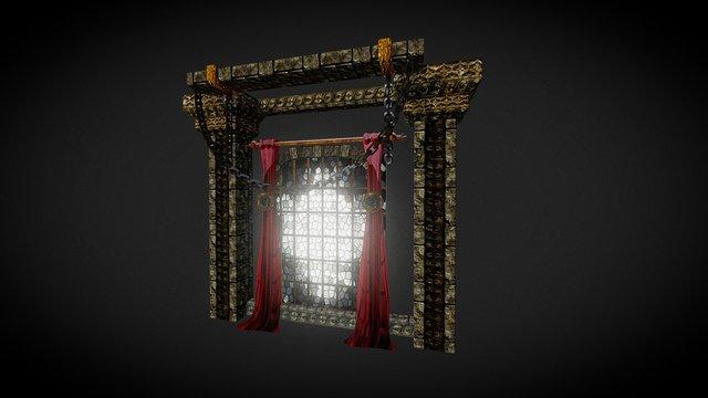 Observation Room - Window Assets 3D Model
