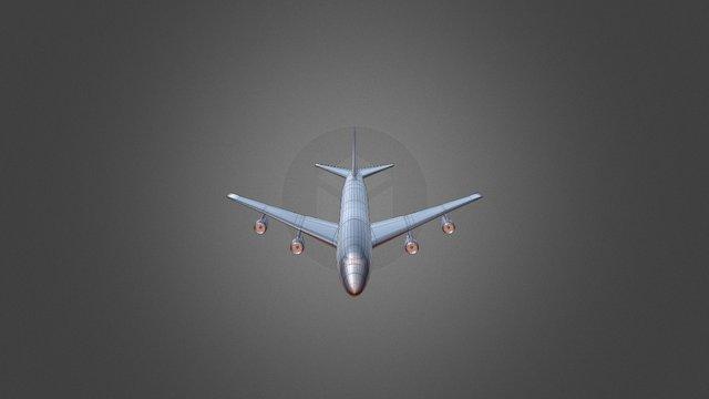 Boeing 747-400 Model 3D Model