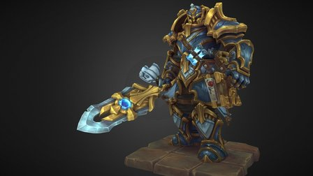 Path of the Paladin 3D Model