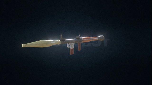 RPG - Modern Guns 3D Model