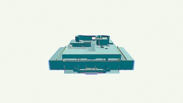 Crown Hall Savoye 3D Model