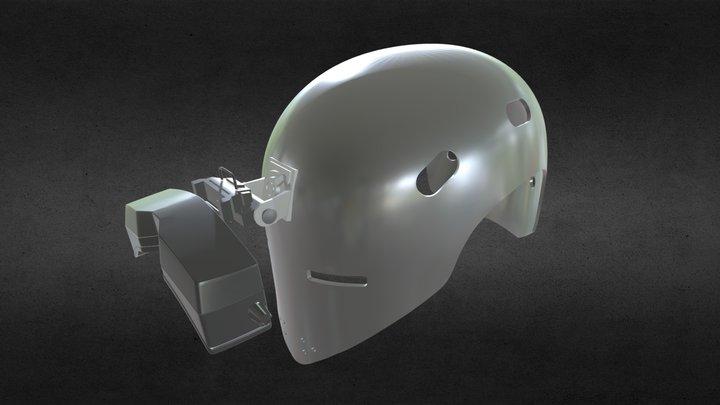 Ghost Recon: Breakpoint - Flycatcher Helmet 3D Model