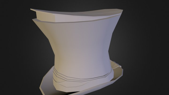 Spy Hat 3D Model