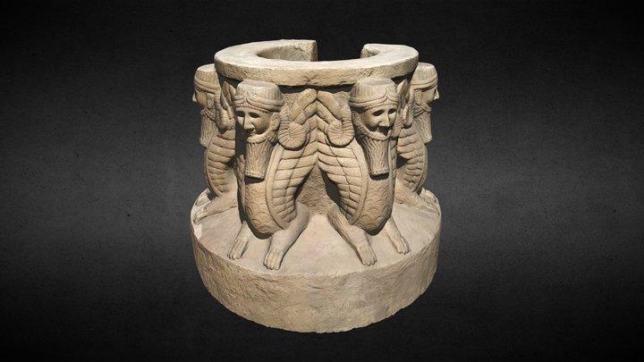Sphinx Base - Syria 3D Model