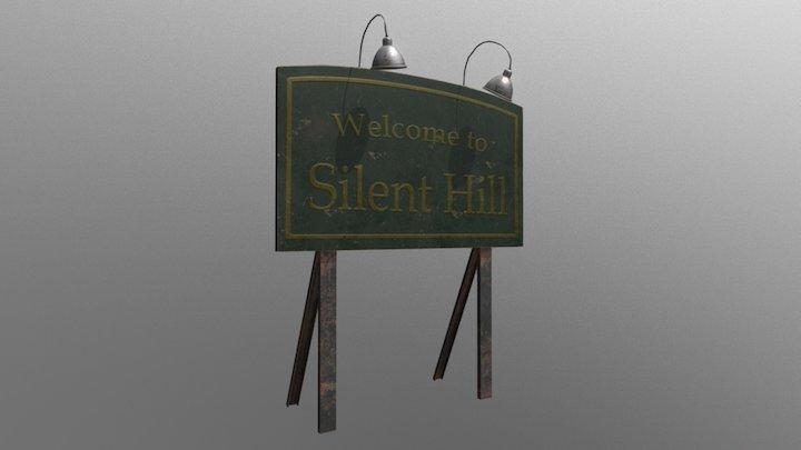 Silent Hills Singboard 3D Model