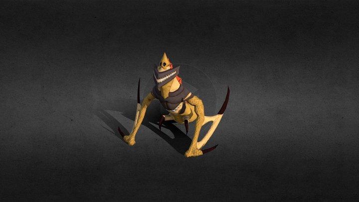 Grinning Monster 3D Model