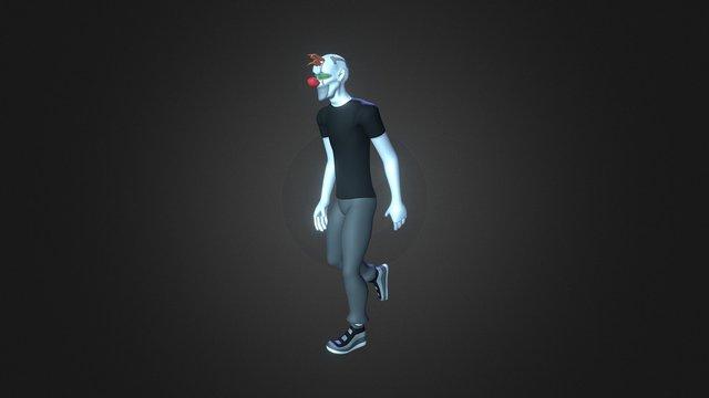 Clown/borg 3D Model