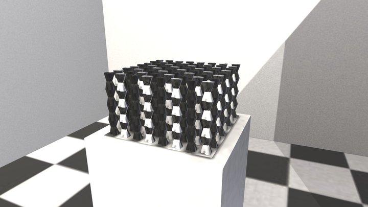 The Scutoid Series 3D Model