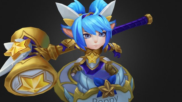 Star Guardian Poppy 3D Model