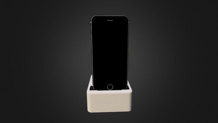 3D Model of Solidone Phone Dock 3D Model