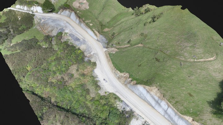 Pahiatua Pongaroa Road - 20 Sep 2019 3D Model
