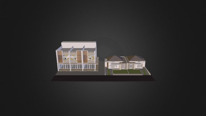 Oakwood Complete 3D Model