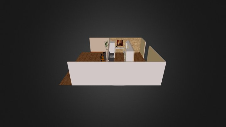 GN Kitchen 3D Model