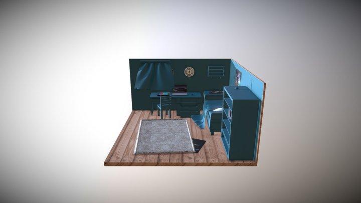 Room for ideal 3D Model