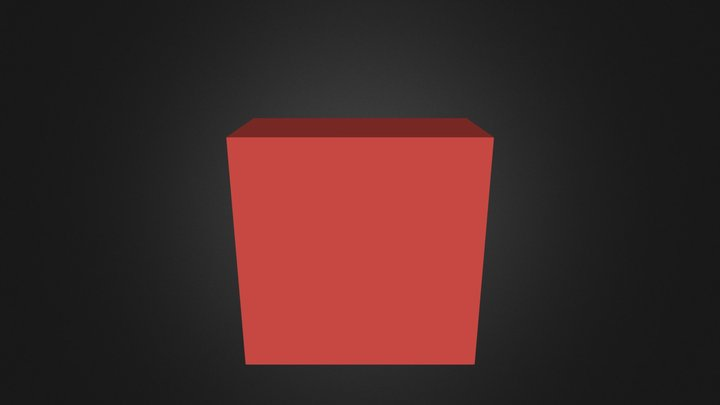 Red Part 3D Model