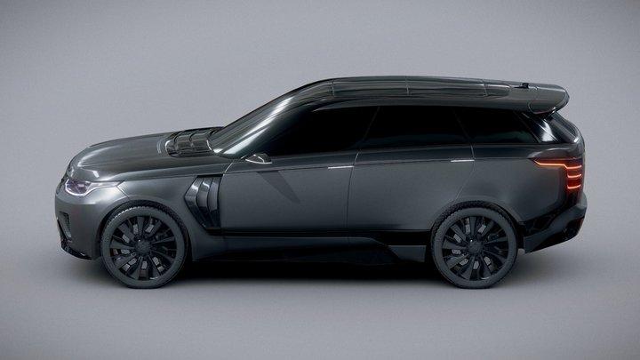 Range Rover Concept By K E N™ 3D Model