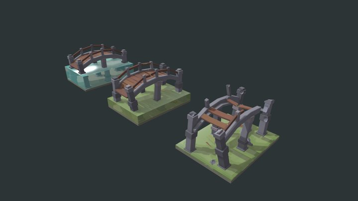Bridge draft 3D Model
