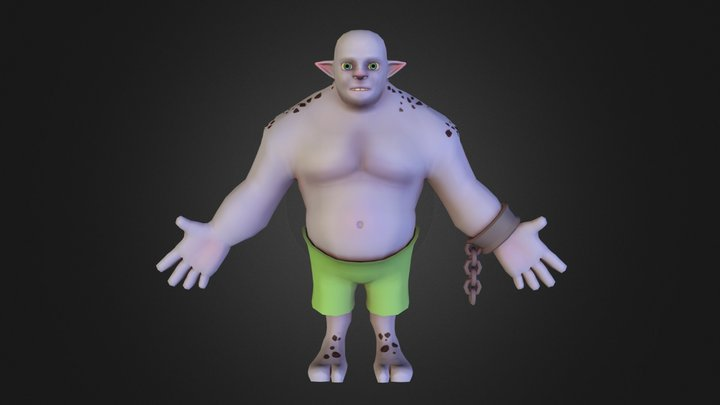 Troll_colour_WIP 3D Model
