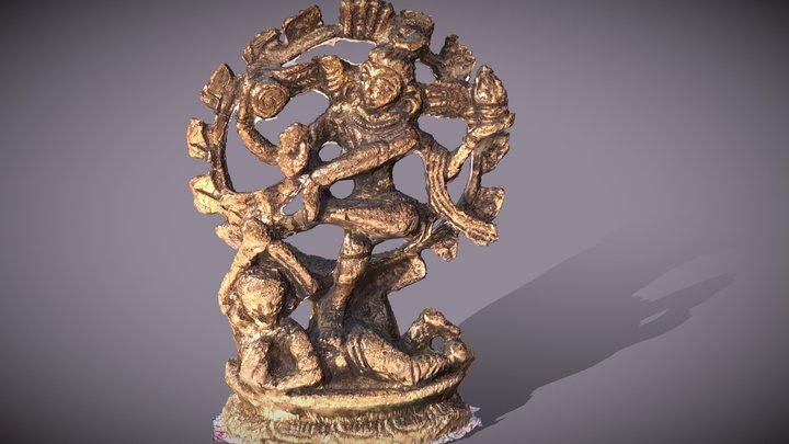 Shiva 3d statue 3D Model