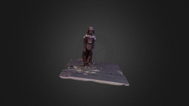 Xander Darth Vader 3D Model
