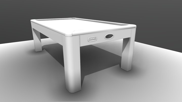 Air Hockey Table (Stream 1) 3D Model