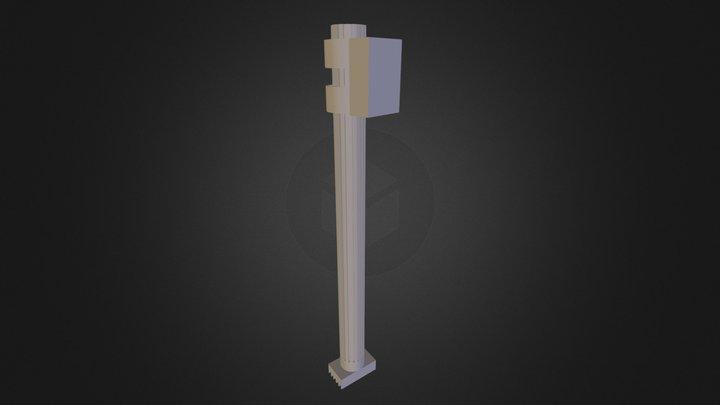 מחבר 2 באסמבלי בפרט 3D Model