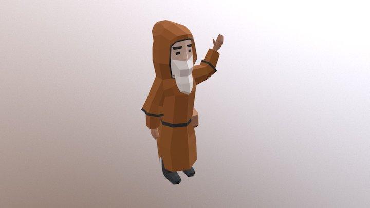 Hermit Wavinghand 3D Model